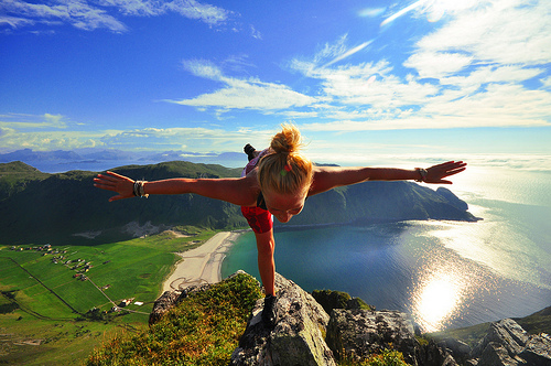 Yoga-on-Mountain