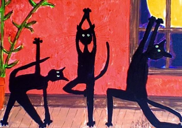 Black Cats Yoga